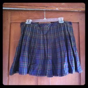 Plaid GAP outlet skirt